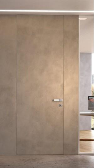 Дизайнерское решение скрытой двери