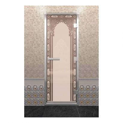 Хамам восточная арка бронза матовая